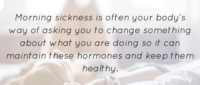 Morning Sickness Quote