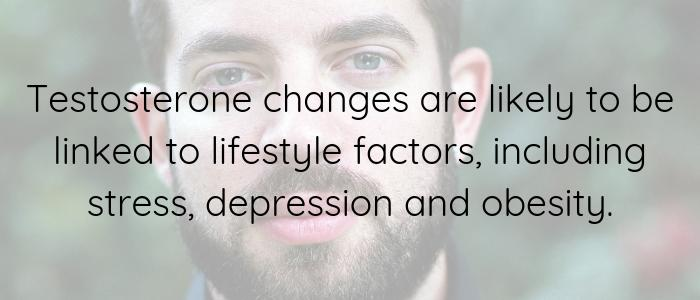 Changes in testosterone quote